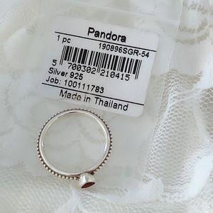 Pandora Jewelry - Pandora One Love Ring SIZE 54